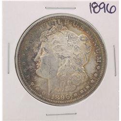 1896 $1 Morgan Silver Dollar Coin Great Color