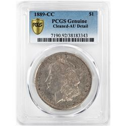 1889-CC $1 Morgan Silver Dollar Coin PCGS AU Detail