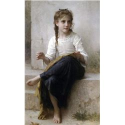 William Bouguereau - Sewing