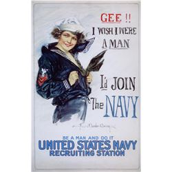 Howard Christy - US Navy Woman
