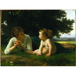 William Bouguereau - Temptation