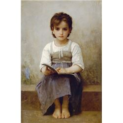 William Bouguereau - The Difficult Lesson