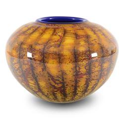Small Blatik Sphere by GartnerBlade Glass