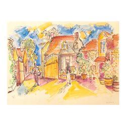 Entrance of Domaine de la Romanee-Conti by Ensrud Original