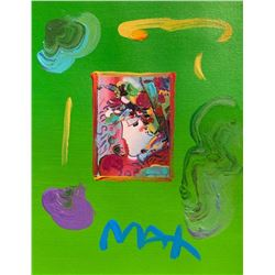 "Peter Max ""BLUSHING BEAUTY"""