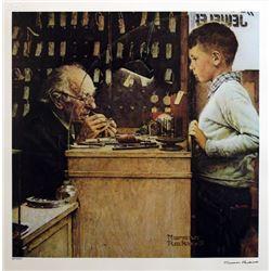 "Norman Rockwell ""Watchmaker of Switzerland"""