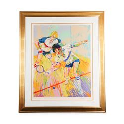 """Racquetball"" by LeRoy Neiman - Limited Edition Serigraph"