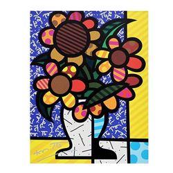 New Sunflower by Britto, Romero