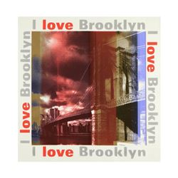 I Love Brooklyn by Steve Kaufman (1960-2010)