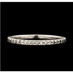 0.34 ctw Diamond Ring - 14KT White Gold