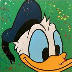 "Paulina Del Mar ""Donald Duck in Green"""