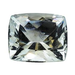 5.71 ct.Natural Cushion Cut Aquamarine