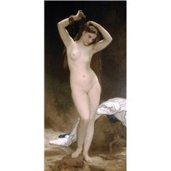 William Bouguereau - Bather