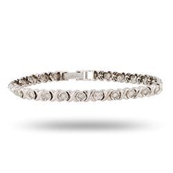 2.00 ctw SI2 Diamond 14K White Gold Bracelet