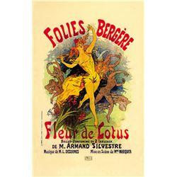 Jules Cheret -  Fleur De Lotus