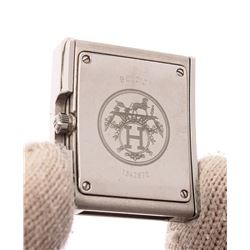 Hermes Silver Belt Watch