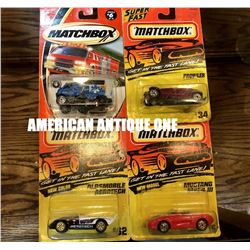 1993-2000 Matchbox Minicar 4 types