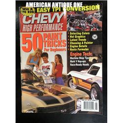 August 1993 Chevrolet High Performance / Car Magazine