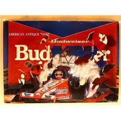 71cm Budweiser Racing car Poster