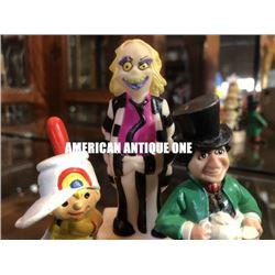 1980~1989 W Berrie Beetlejuice,H.G.Toys PVC figure Set of 3
