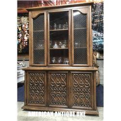 204cm wooden showcase