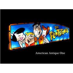 141cm Flintstone Neon/Casino Slot Machine Parts