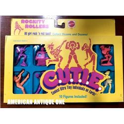 1986 C.U.T.I.E.rock and roll band figure set