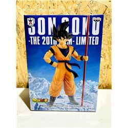 2018 Dragon Ball Super Son Goku 20th Anniversary Limited Movie Figure Banpresto