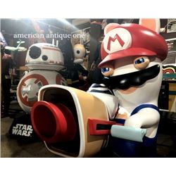 Limited 20 159cm x 134cm Mario Rabbids Kingdom Battle Life Size Figure
