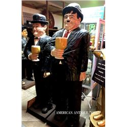 urel & Hardy Hollywood 2 piece Life Size Figure