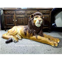 155cm Las Vegas Lion Life-Size Figure