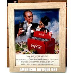 2016 USA Coca-Cola Venture Art Poster