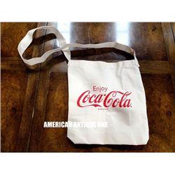 Coca-Cola cloth shoulder pouch