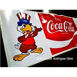 1984 Los Angeles Olympics USA Coca-Cola Official Sticker