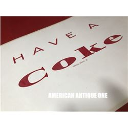 USA Coca-Cola 48cm Logo Sticker