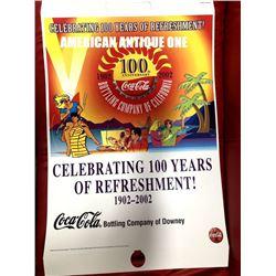 Coca-Cola 2002 100th Anniversary Poster