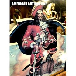 54cm Captain Morgan American Pub Mirror