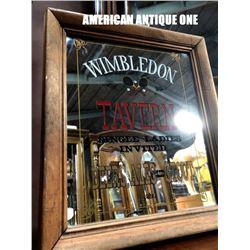Wimbledon Tavan 36 cm American Pub Mirror