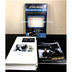 1997 Star Wars: Return of the Jedi Figure Cassette Tape Set Disney