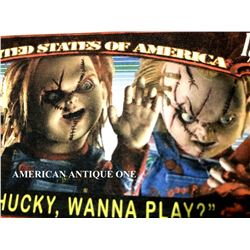 Chucky / Child Play Novelty Banknote