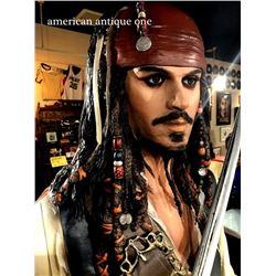 194cm Jack Sparrow / Pirates of the Caribbean Mackle Mannequin Disney License