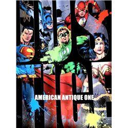 51cm Justice League DC comic Sign