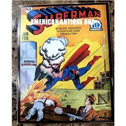 January 1941 Superman Vol.1 #8 36 cm Superman/DC comic Poster