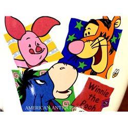 Winnie the Pooh / Poodle & Huey, Dewey, Loei mini mug 2 pieces set