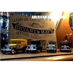 BRYANT & MAY'S England Minicar
