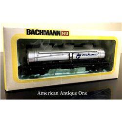 Bachman Plastic Building/Cyanamide Tank Railroad Train Model