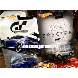 1993-2018 007 Specter, Gran Turismo Series, Superstar, Tonka Minicar 4-piece set