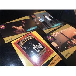 1991 THE DOORS Musician card 4 pieces set