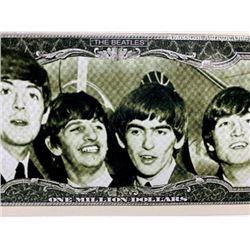 The Beatles / Ringo Starr novelty banknote