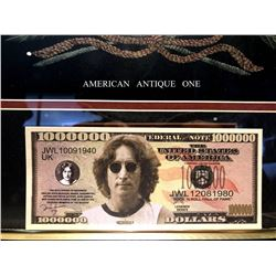 The Beatles / John Lennon novelty banknote